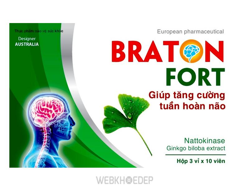 Thực phẩm chức năng bổ não Braton Fort