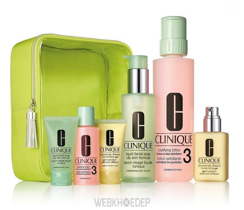 Bộ 5 món quà tặng đặc biệt dưỡng da của Clinique