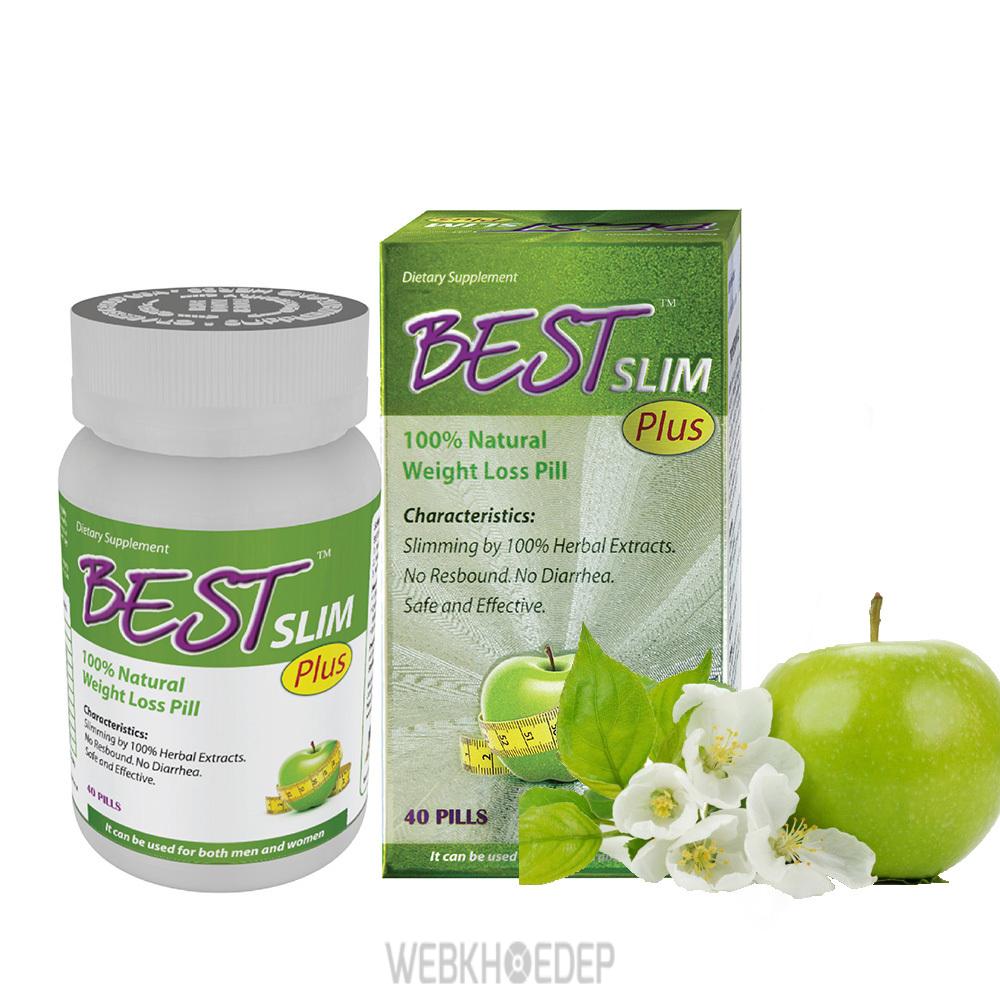 Thuốc giảm cân Best Slim với các thành phần từ thiên nhiên