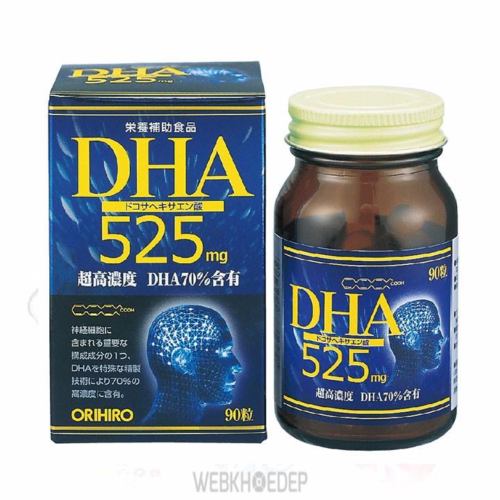 DHA 525 tăng cường sức khỏe não bộ