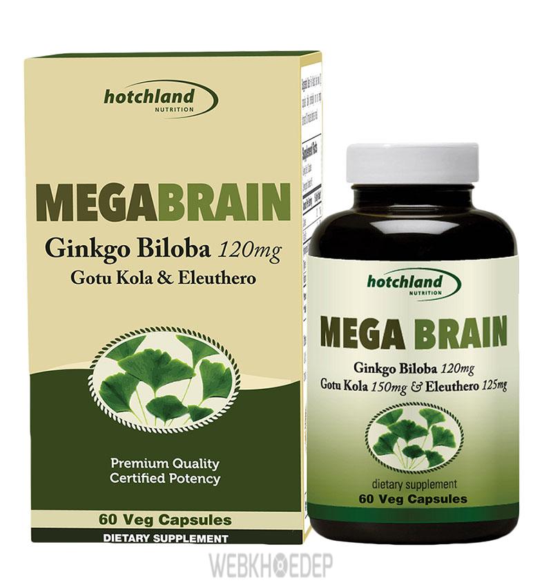 Thực phẩm chức năng bổ não MegaBrain