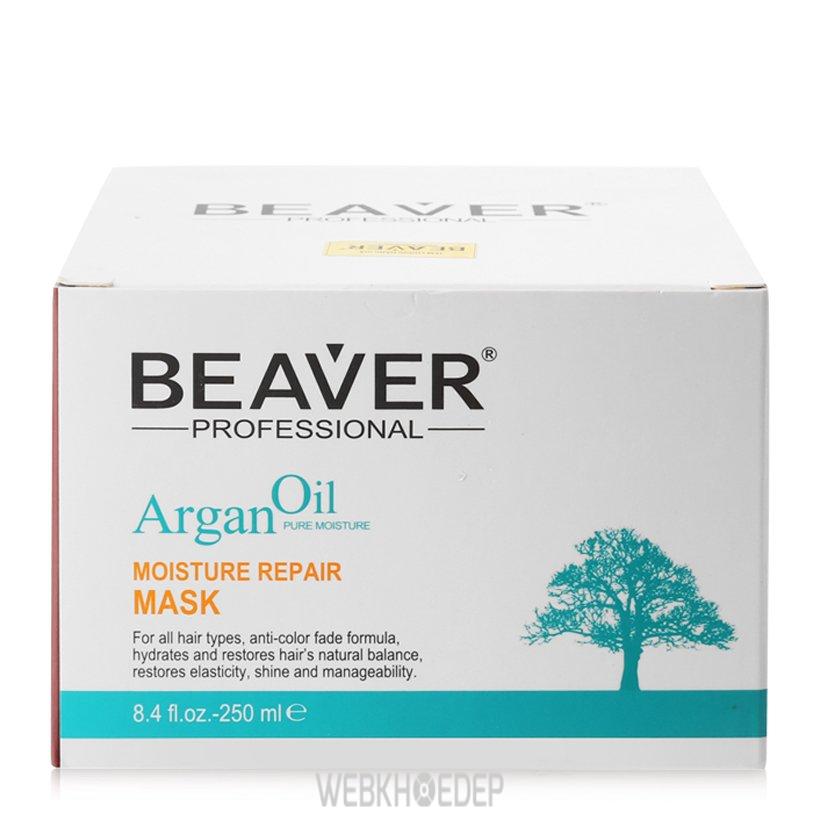 Sử dụng mặt nạ Beaver Argan Oil Moisture Repair đều đặn mỗi ngày bạn sẽ bất ngờ về mái tóc sau đó