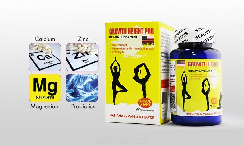 Thực phẩm chức năng Growth Height Pro