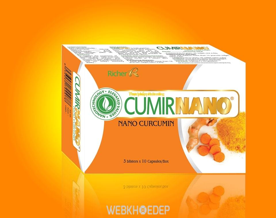 Đem đến một làn da đẹp và ngừa chứng viêm dạ dày với nghệ CumirNano