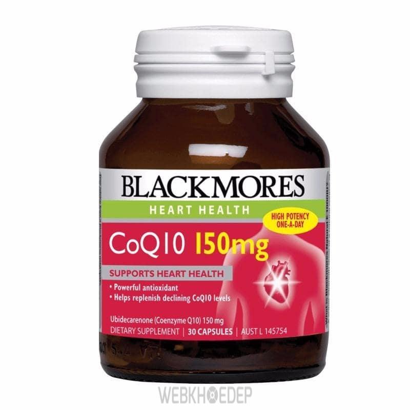Dùng thực phẩm chức năng Blackmores cho tim mạch khỏe mạnh