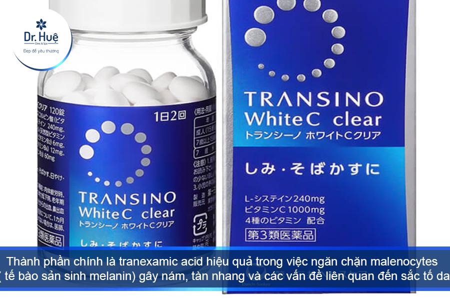 Viên uống trị nám Transino 240 viên Nhật bản