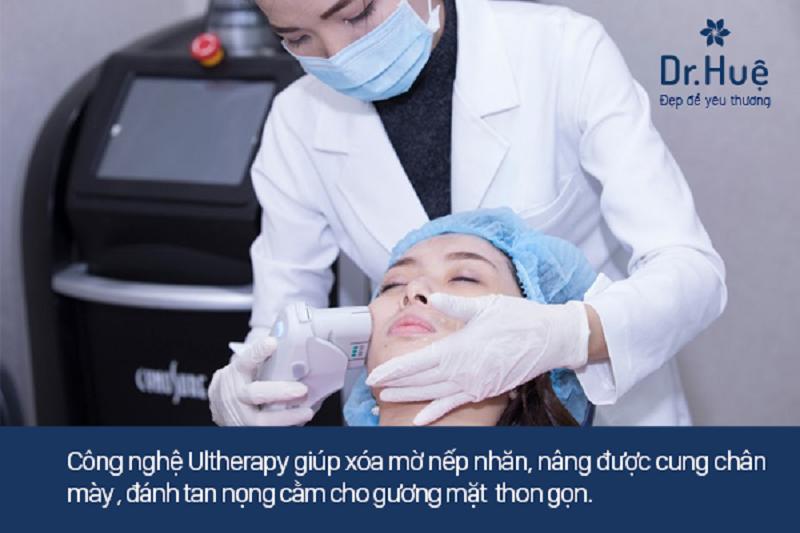 Cách điều trị lão hóa da mặt an toàn bằng Ultherapy