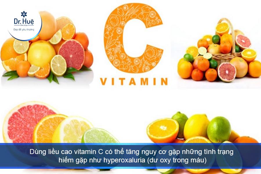Nguyên nhân nổi mụn do uống vitamin C và cách giải quyết