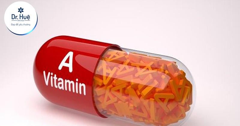 [Tư Vấn] Uống Vitamin A bị nổi mụn nên làm gì?