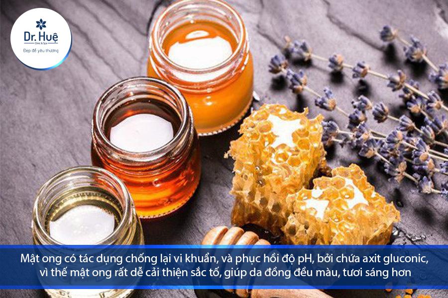 Vỏ cam và mật ong