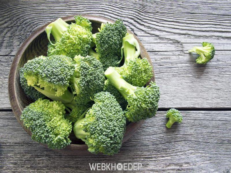 Bông cải xanh là thực phẩm dành cho người bệnh ung thư buồng trứng
