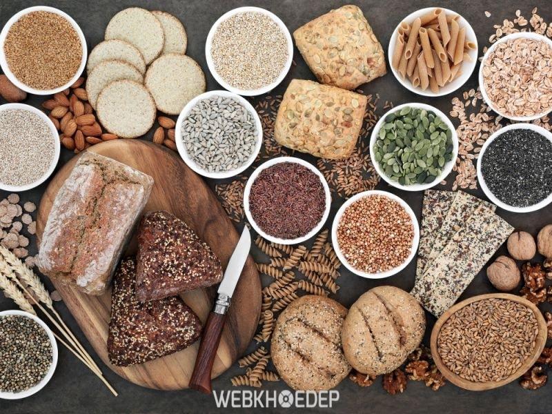 Ngũ cốc nguyên hạt nên có trong chế độ ăn của người bệnh