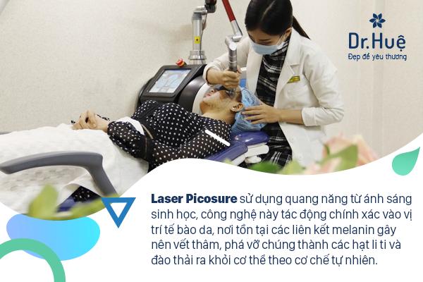 Điều trị vết thâm trên mặt tốt nhất bằng công nghệ cao tại Dr. Huệ